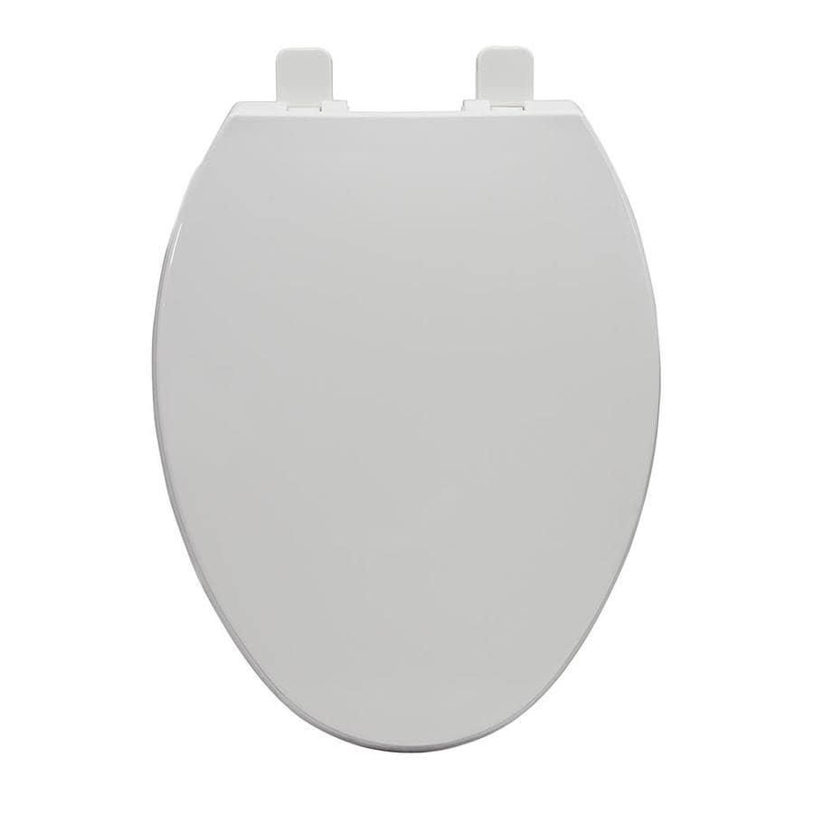 AquaSource Plastic Elongated Slow-Close Toilet Seat