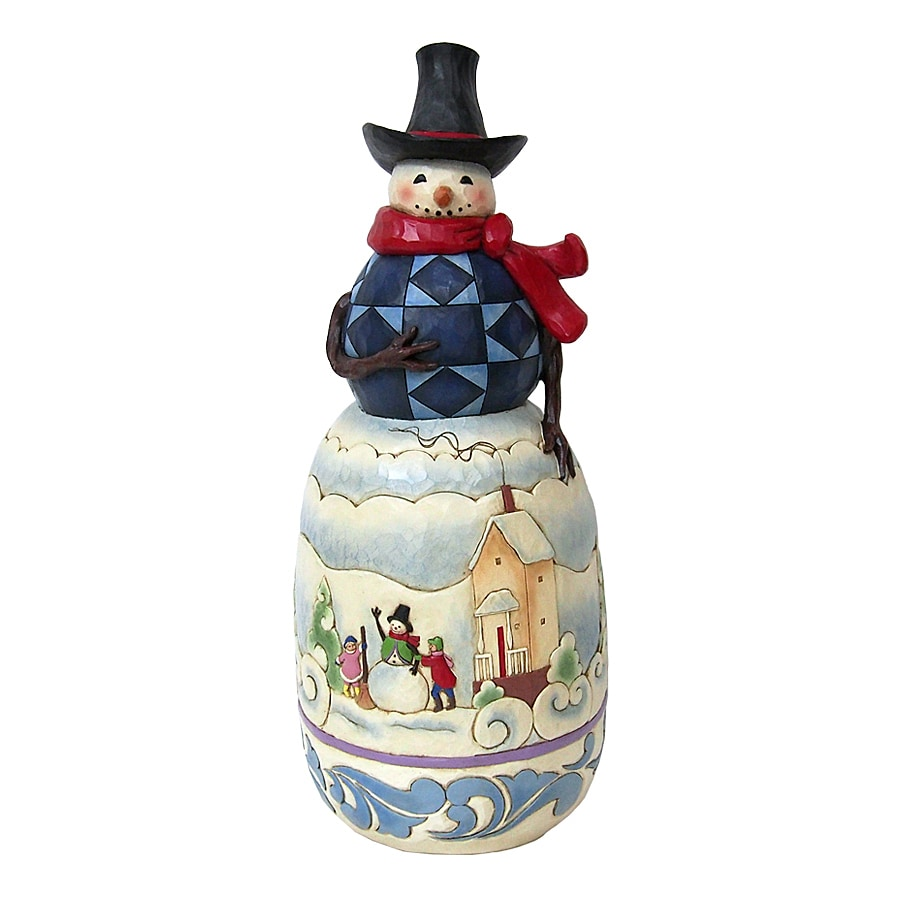 Shop Jim Shore Snowman Indoor Christmas Decoration At