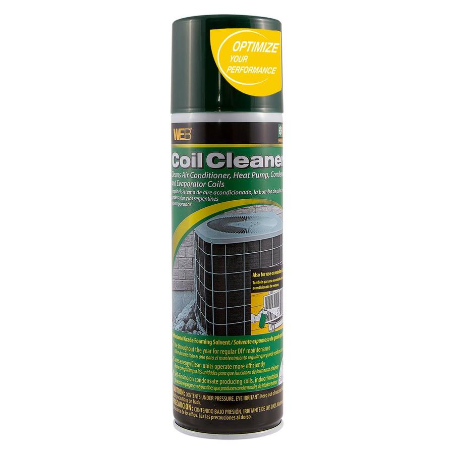 ac coil cleaner. web green white aerosol foam coil cleaner ac