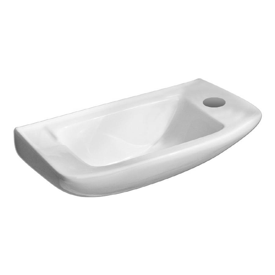 Porcher Elfe White Bath Sink