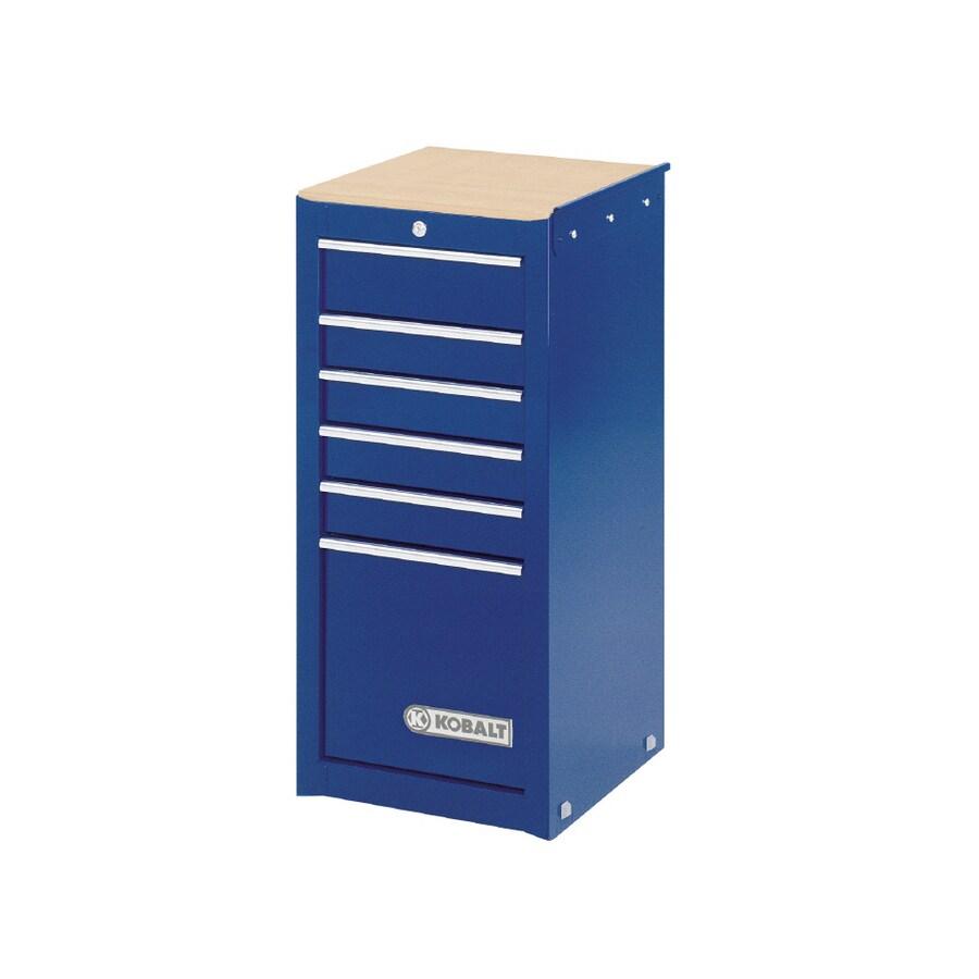 Kobalt 6-Drawer 16-in Steel Tool Cabinet (Blue)