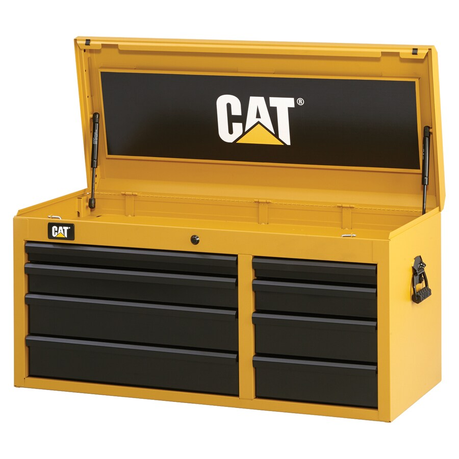 Cat 19.75-in x 40.5-in 8-Drawer Ball-Bearing Steel Tool Chest