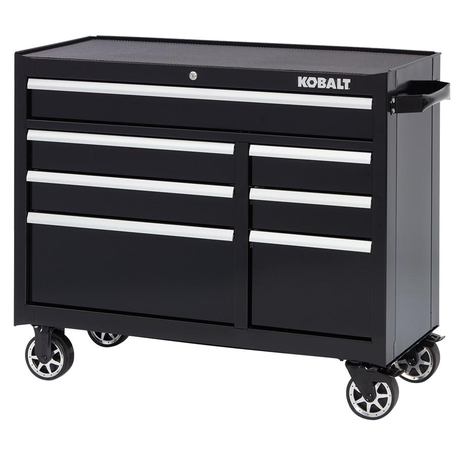 Kobalt 34.5 In X 41 In 7 Drawer Ball Bearing Steel Tool