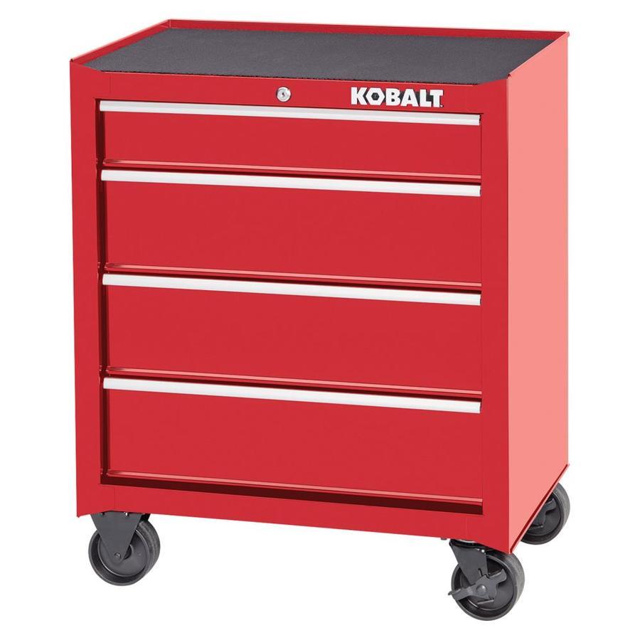 Kobalt 1000 Series 32.5 In X 26.5 In 4 Drawer Ball Bearing