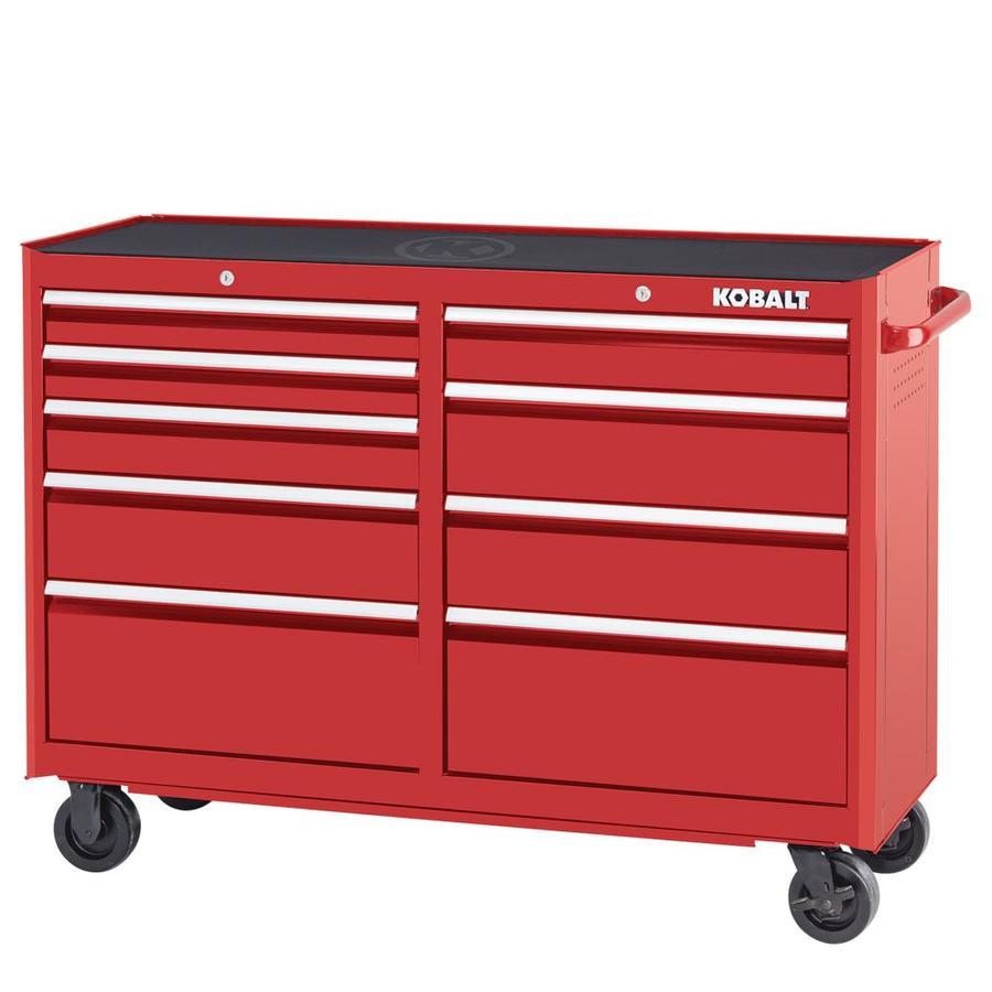 Kobalt 2000 Series 52 In W X 37 5 In H 9 Drawer Steel