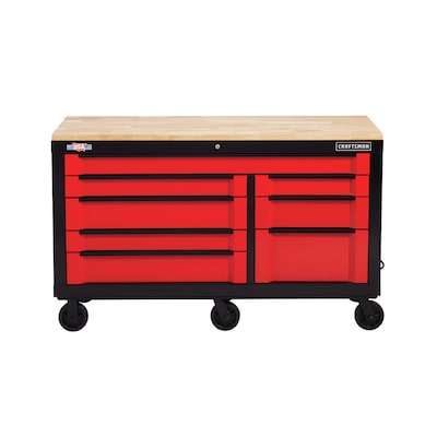 Excellent 3000 Series 63 In W X 37 In H 8 Drawer Steel Rolling Tool Cabinet Red Creativecarmelina Interior Chair Design Creativecarmelinacom