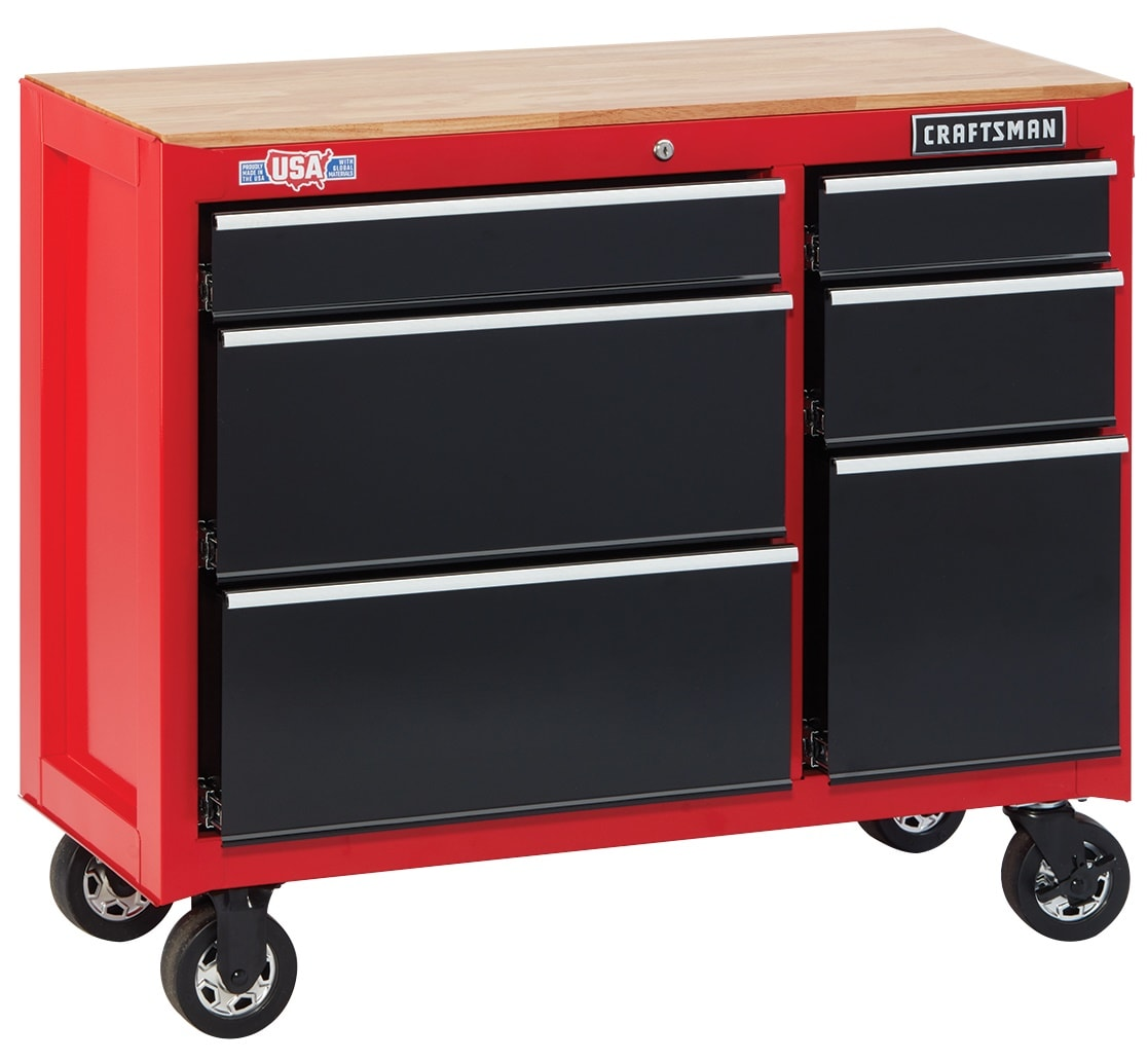 CRAFTSMAN 2000 Series 41 In W X 34 In H 6 Drawer Ball