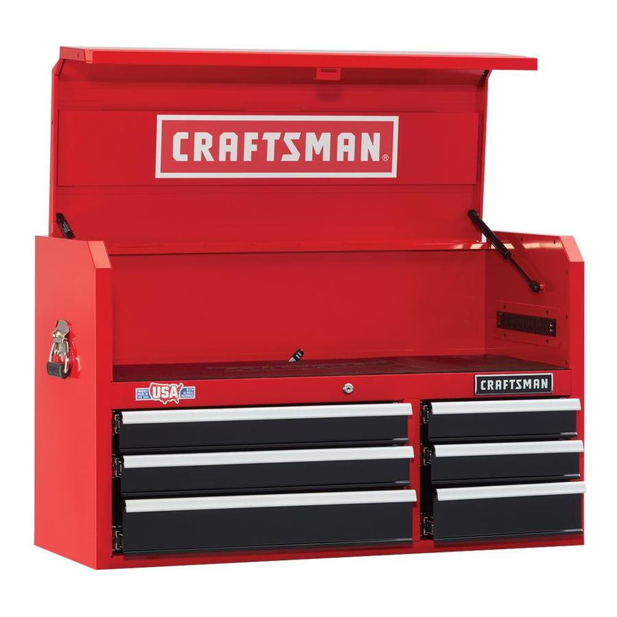 CRAFTSMAN 2000 Series 41-in W x 24 5-in H 6-Drawer Ball-bearing