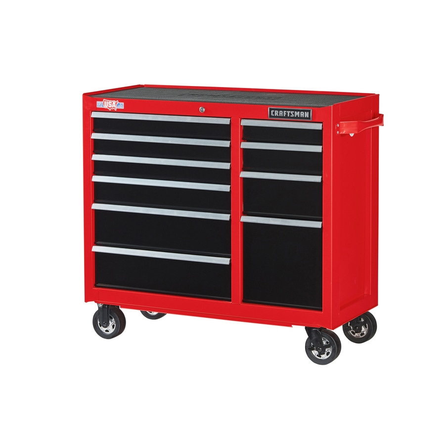 37 5 In H 10 Drawer Steel Rolling