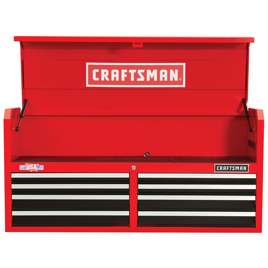 Craftsman 2000 Series 52 In W X 24 5 H 8 Drawer Ball Tool Chest