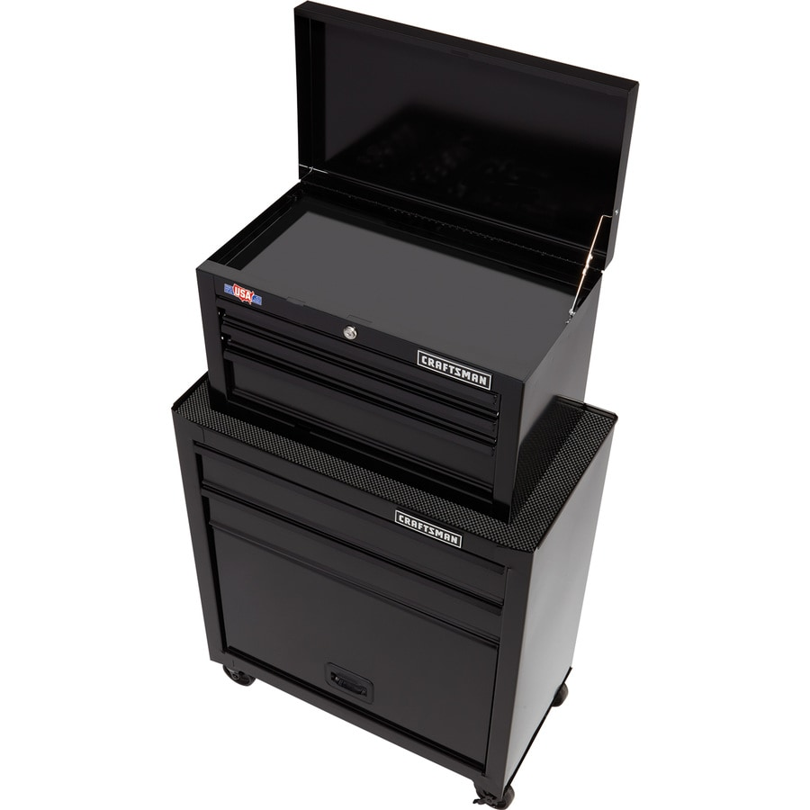CRAFTSMAN 1000 Series 26-in W x 44-in H 5-Drawer Ball-Bearing Steel