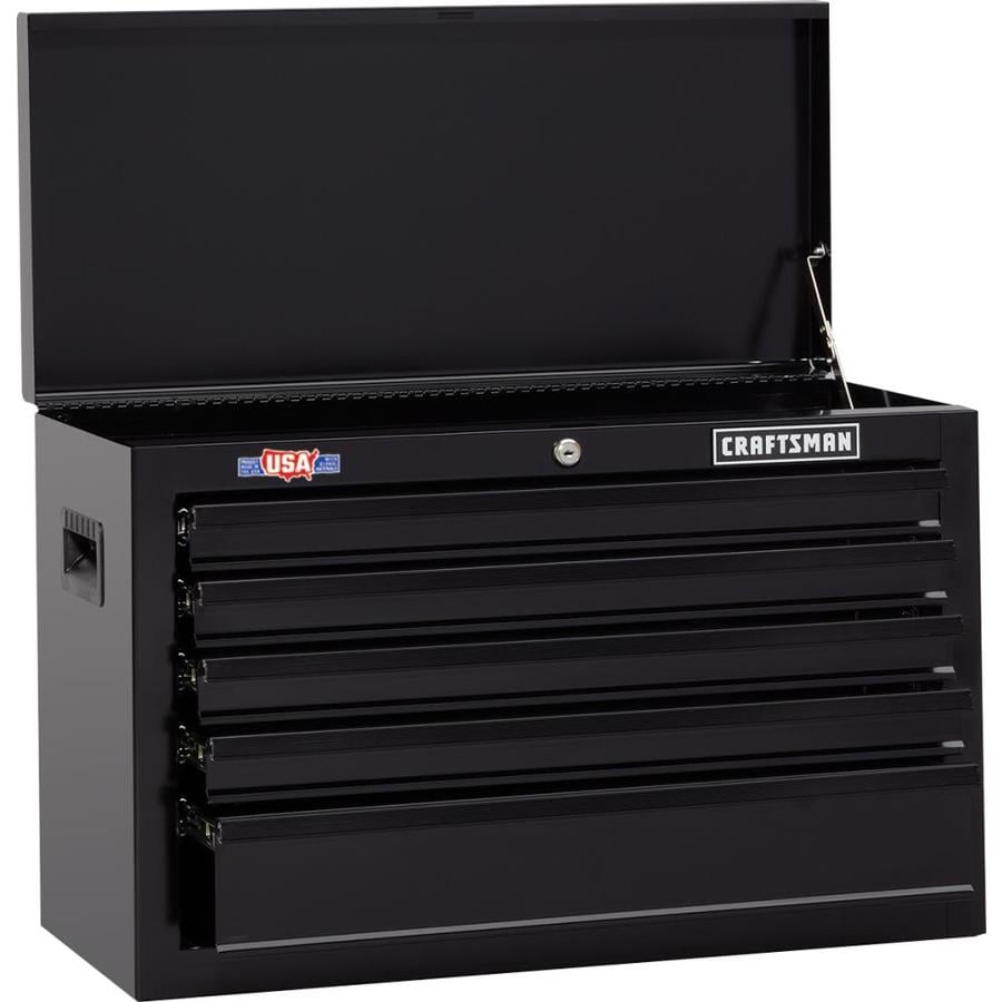 CRAFTSMAN 1000 Series 26-in W x 17 25-in H 5-Drawer Ball-bearing