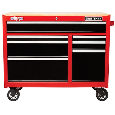 Prime 2000 Series 41 In W X 35 In H 7 Drawer Steel Rolling Tool Cabinet Red Beatyapartments Chair Design Images Beatyapartmentscom