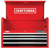 Deals on CRAFTSMAN 2000 Series 37-in 4-Drawer Steel Tool Chest CMST98222RB