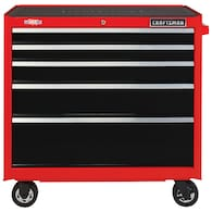 Deals on Craftsman 37-in 5-Drawer Tool Cabinet CMST98223RB