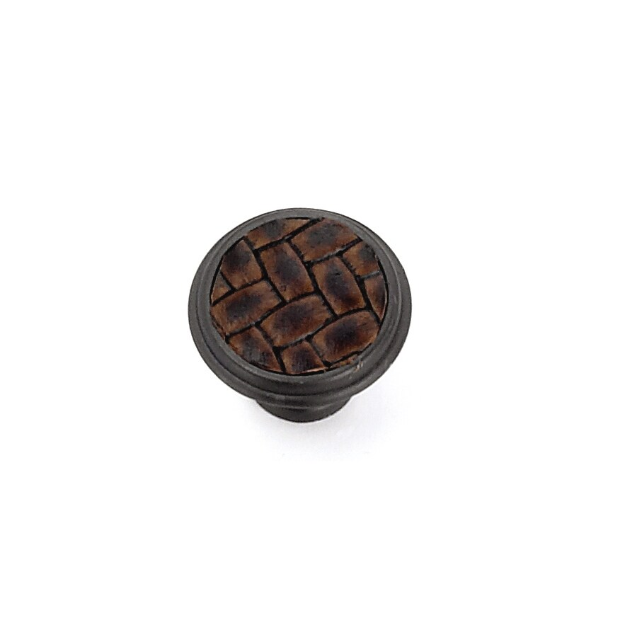 Laurey Churchill Oil-Rubbed Bronze Round Cabinet Knob