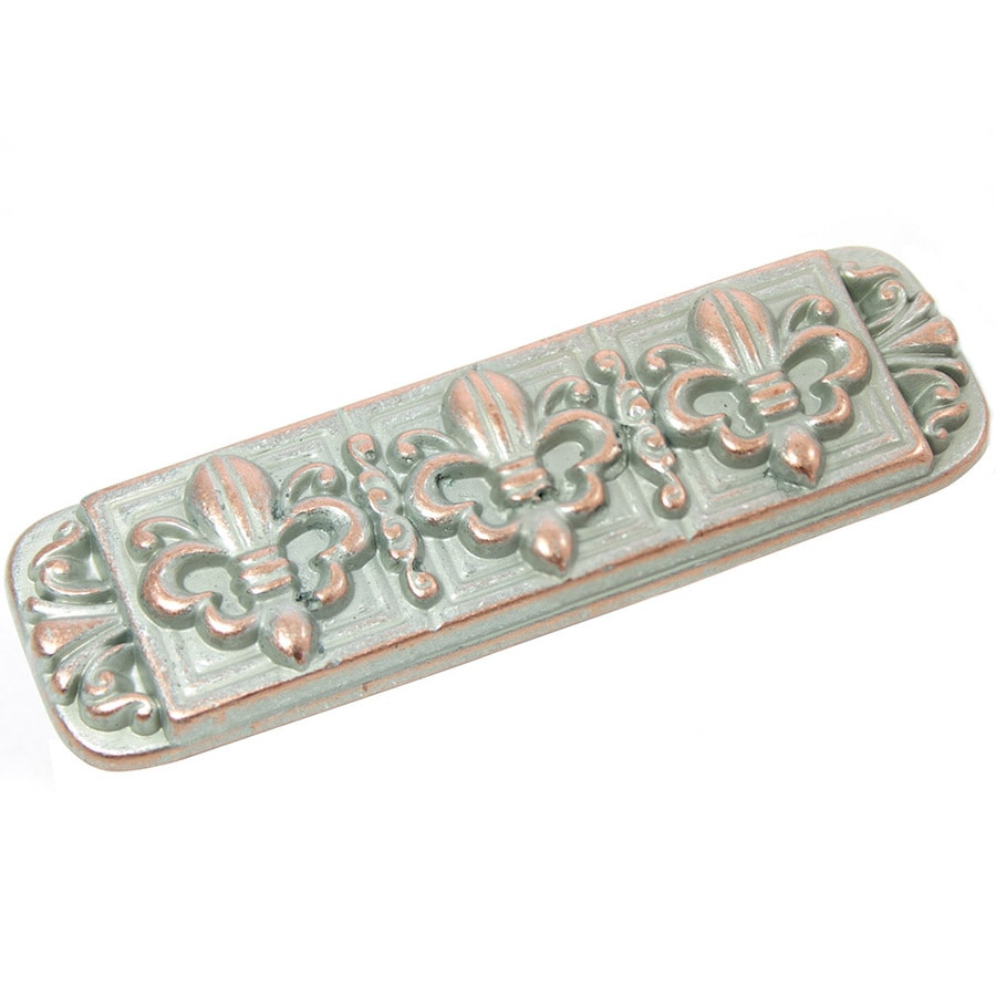 Laurey 3-in Center-to-Center Weathered Antique Copper Rectangular Cabinet Pull