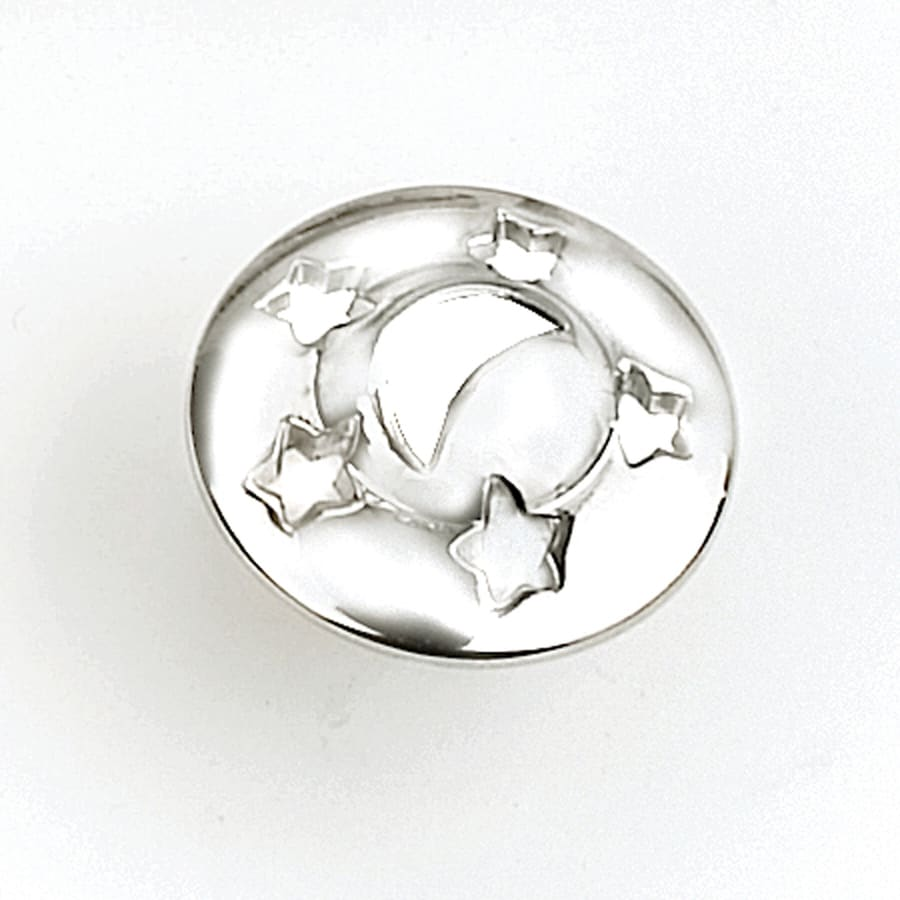 Laurey Polished Chrome Round Cabinet Knob