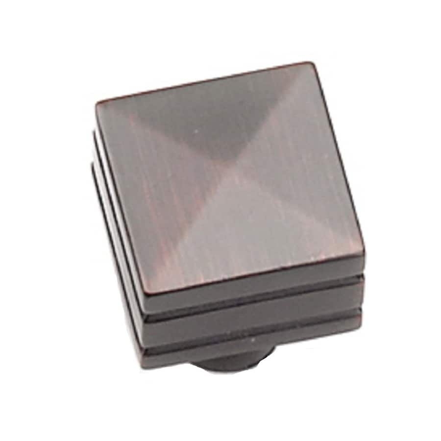 Laurey Oil-Rubbed Bronze Rectangular Cabinet Knob
