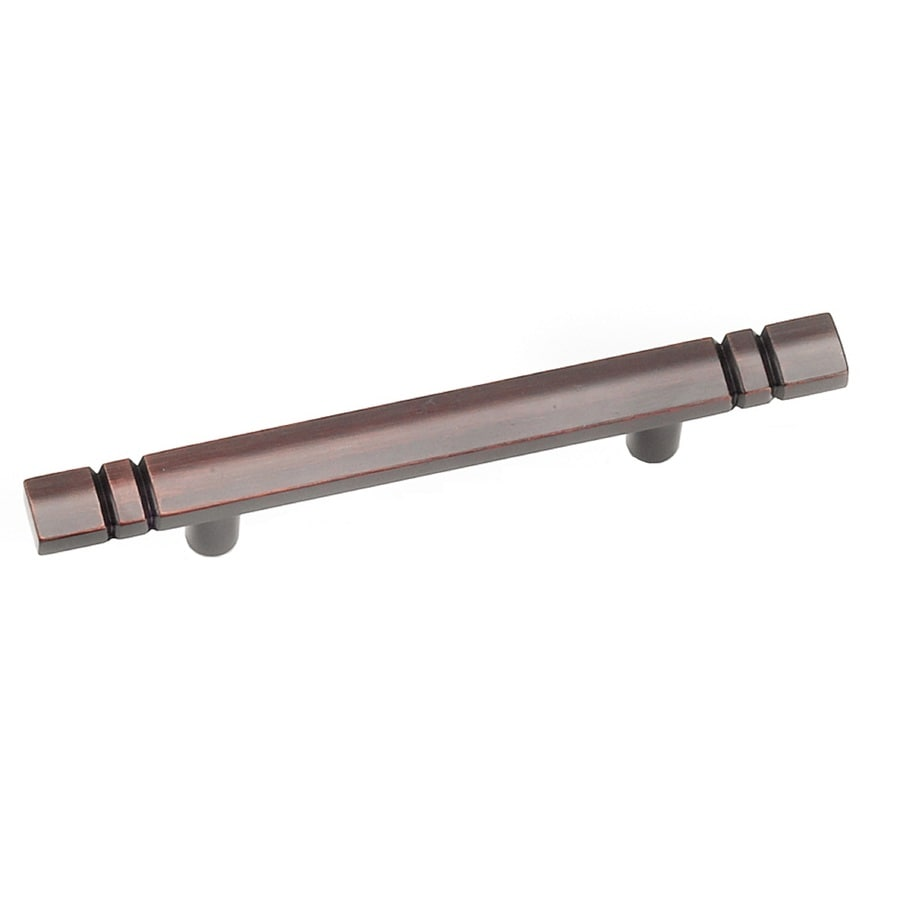 Laurey 3-in Center-to-Center Oil Rubbed Bronze Rectangular Cabinet Pull