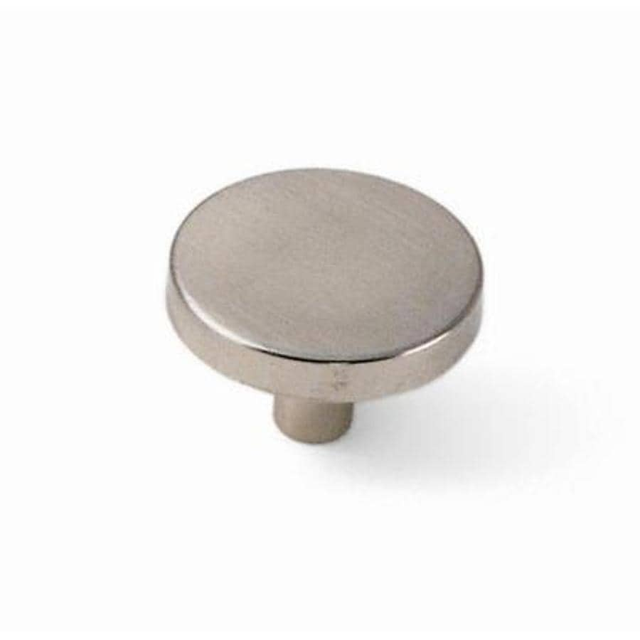 Laurey Satin Chrome Round Cabinet Knob