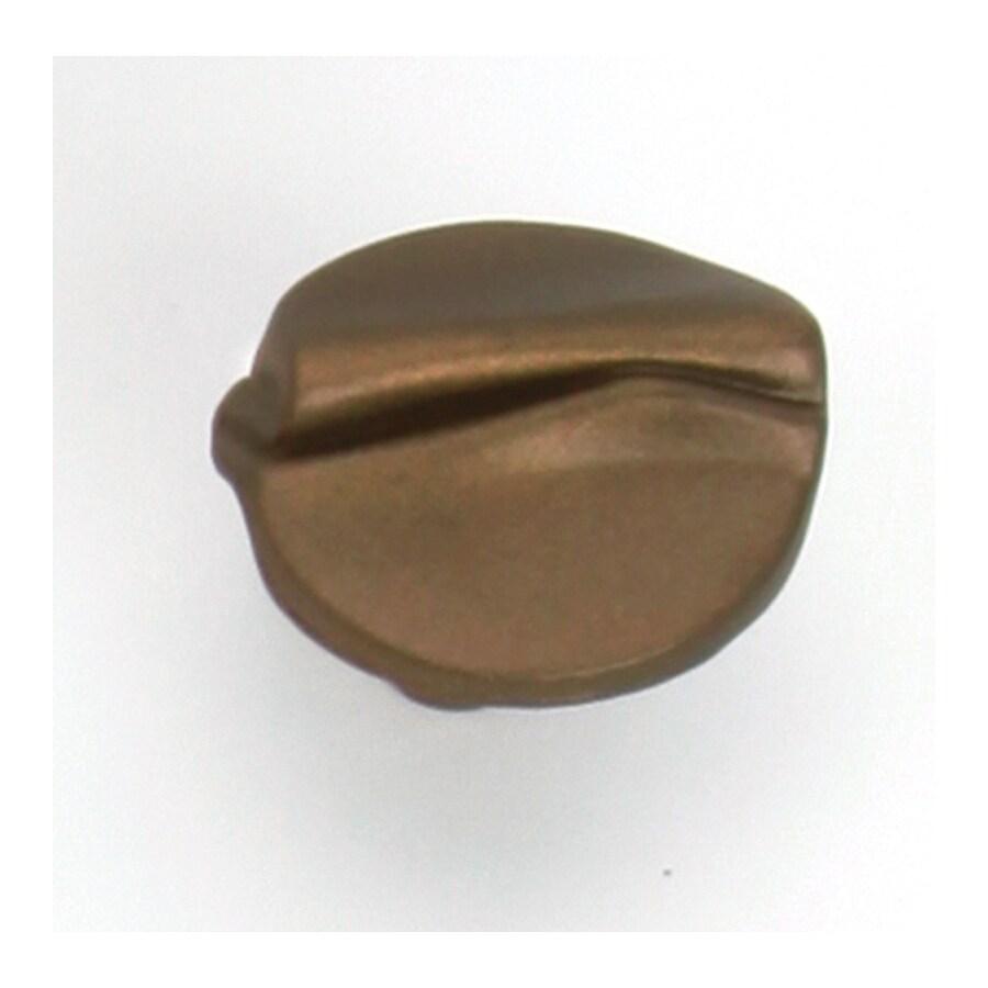 Laurey Aged Brass Round Cabinet Knob