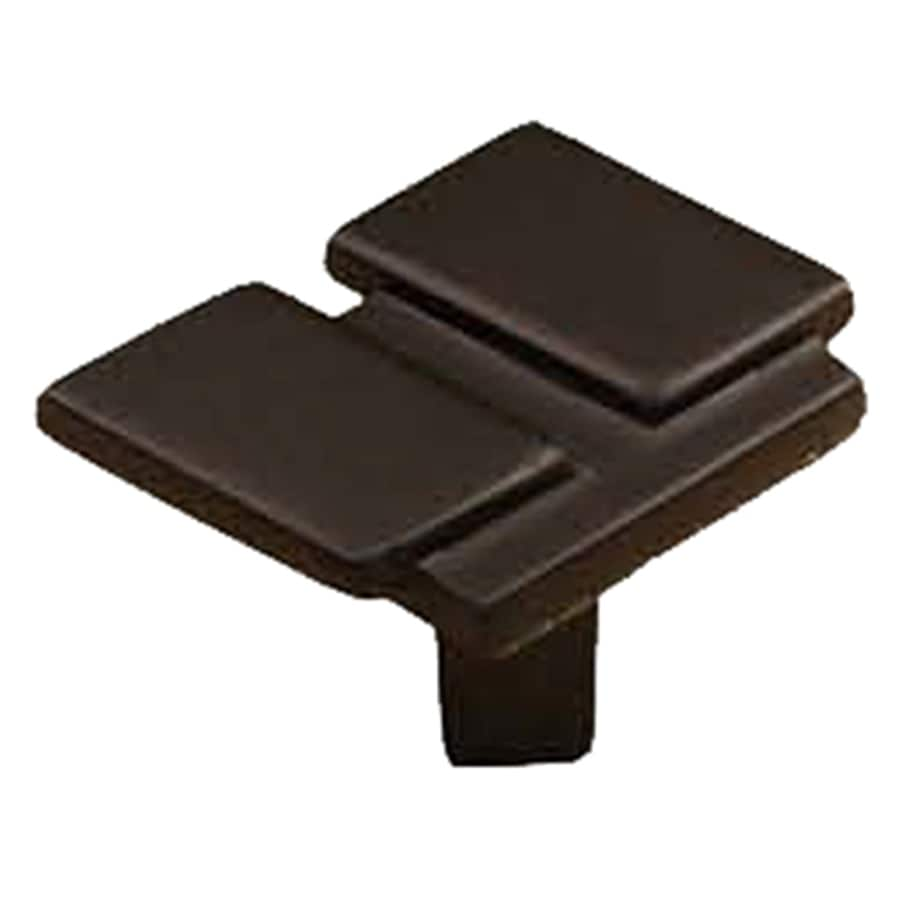 Laurey Iron Black Rectangular Cabinet Knob