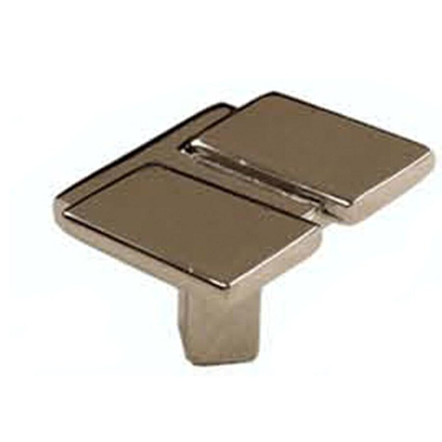 Laurey Polished Chrome Rectangular Cabinet Knob