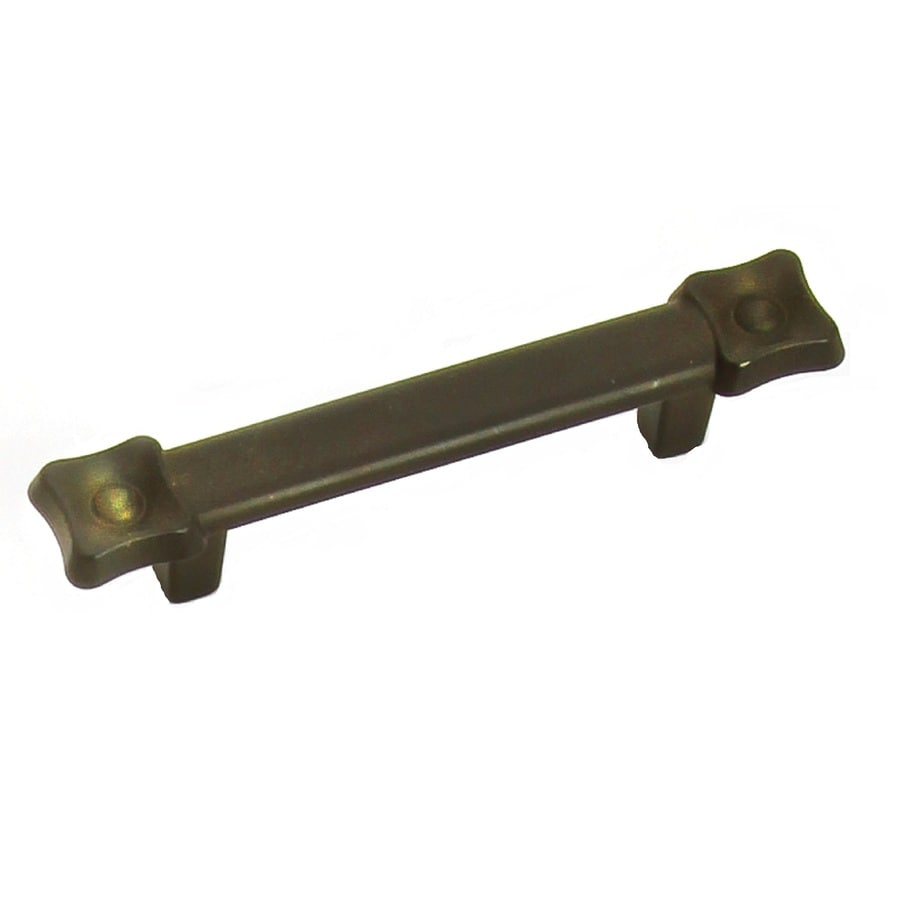 Laurey 3-in Center-to-Center Bronze Rectangular Cabinet Pull
