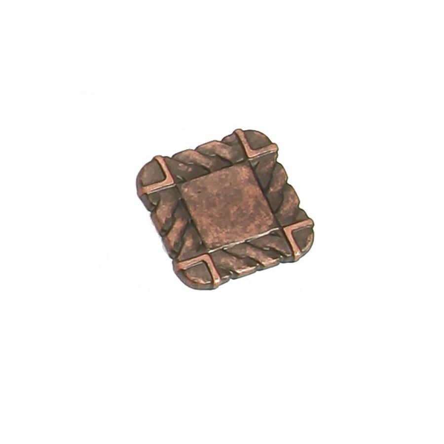 Laurey Antique Copper Square Cabinet Knob