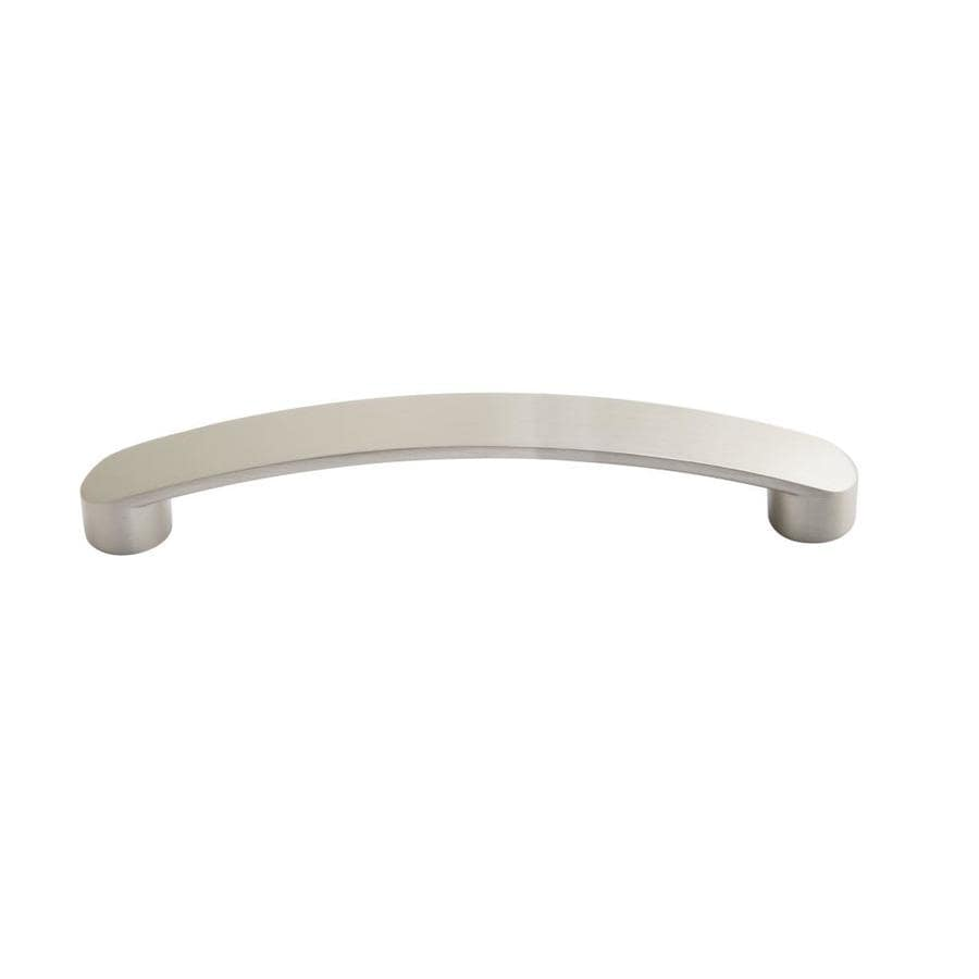 Laurey Ultima 6 5 16 In Center To Center Satin Nickel Rectangular Handle Drawer Pulls In The Drawer Pulls Department At Lowes Com