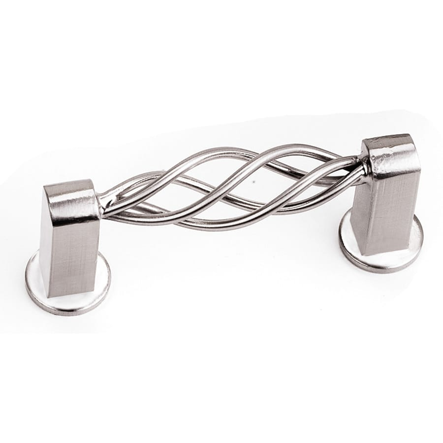 Laurey 3-in Center-to-Center Satin Chrome Rectangular Cabinet Pull