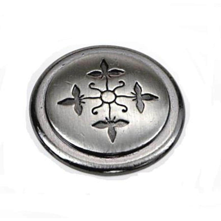Laurey Satin Nickel Round Cabinet Knob