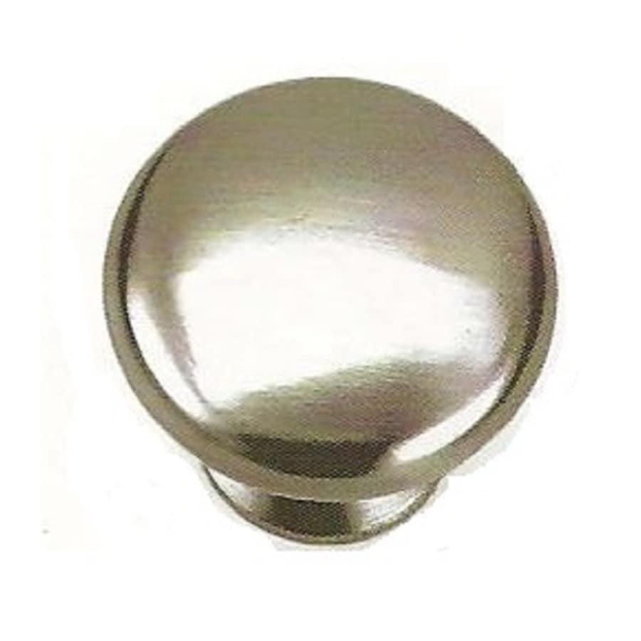 Laurey Brushed Nickel Mushroom Cabinet Knob