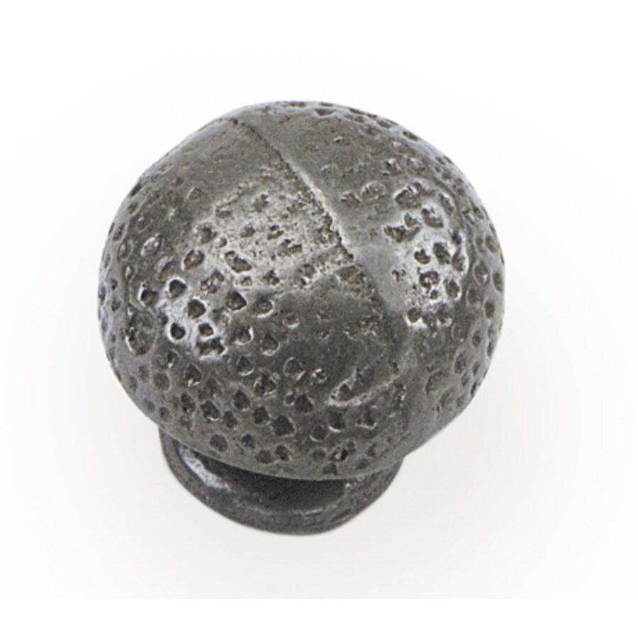 Laurey Pewter Globe Cabinet Knob
