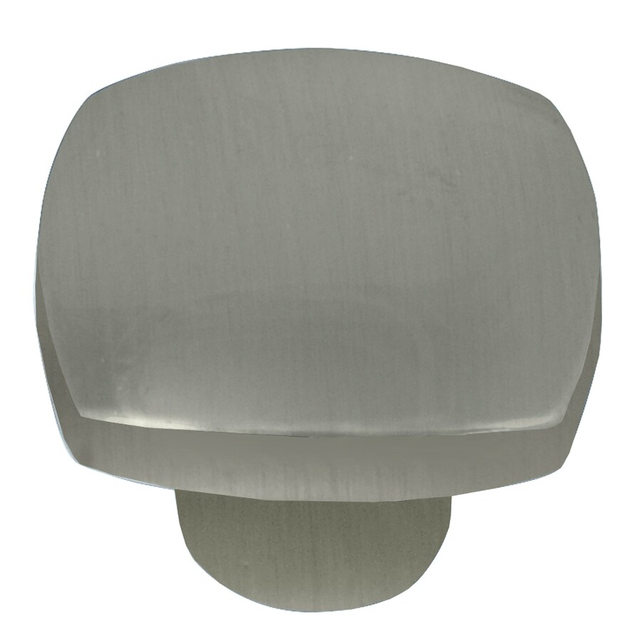 Laurey Satin Nickel Square Cabinet Knob