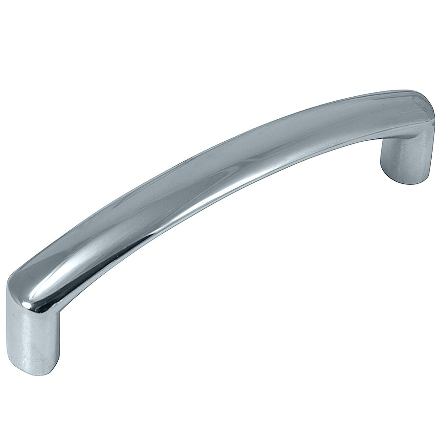 Laurey 3-7/9-in Center-to-Center Polished Chrome Rectangular Cabinet Pull