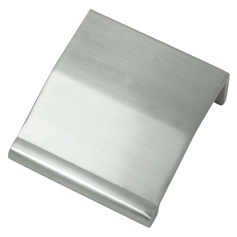 Laurey 1-1/4-in Center-to-Center Brushed Satin Nickel Rectangular Cabinet Pull