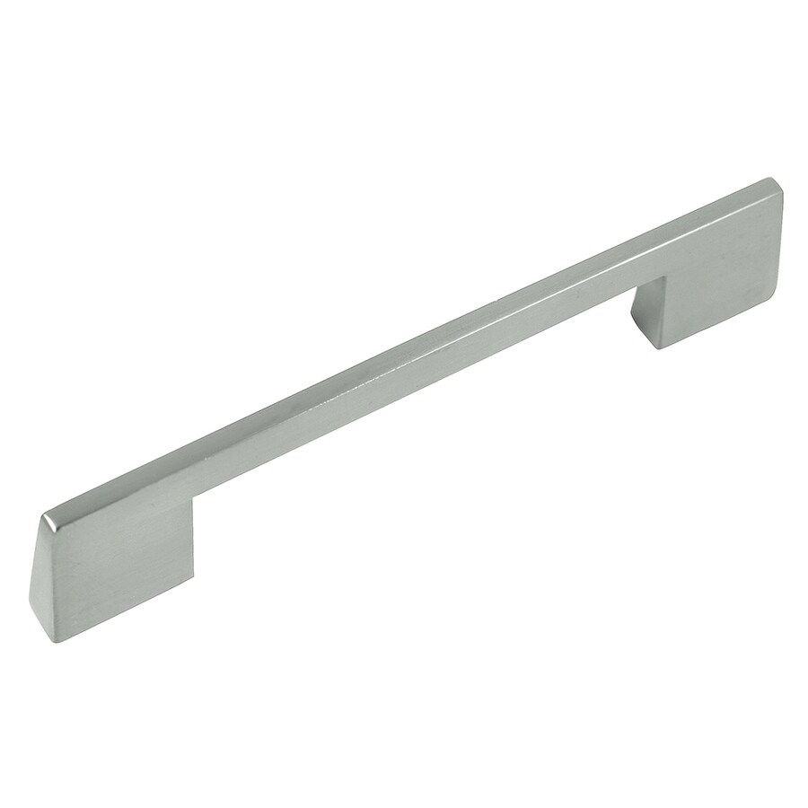 Laurey 3-3/4-in Center-to-Center Brushed Satin Nickel Rectangular Cabinet Pull