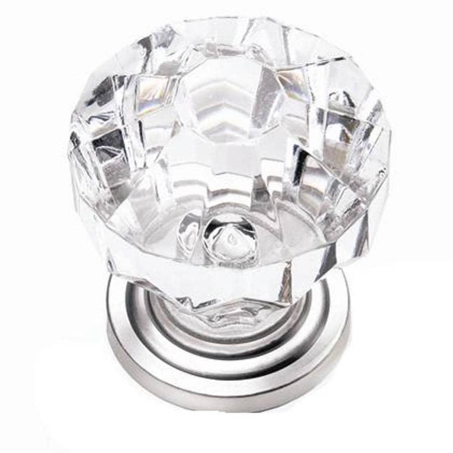 Laurey Clear Round Cabinet Knob