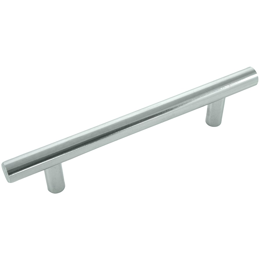 Laurey 4-in Center-to-Center Polished Chrome Rectangular Cabinet Pull