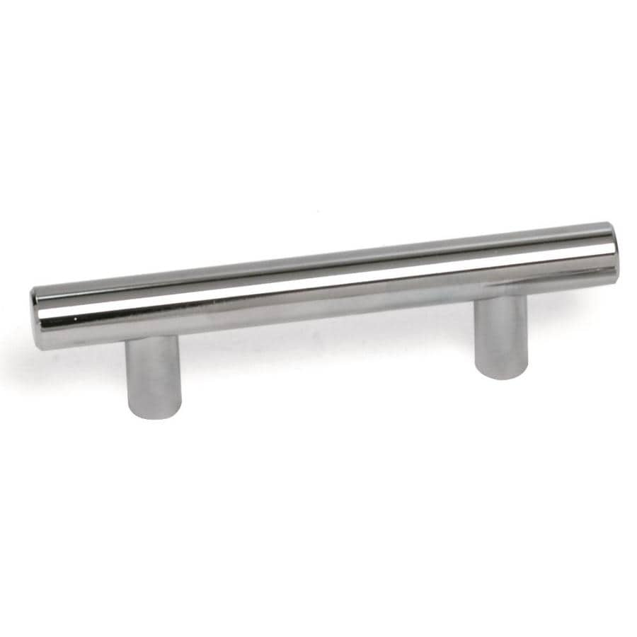 Laurey 3-in Center-to-Center Stainless Steel Melrose Bar Cabinet Pull