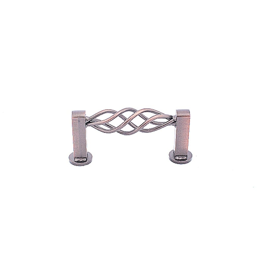 Laurey 3-in Center-to-Center Oil-Rubbed Bronze Mission Bay Rectangular Cabinet Pull
