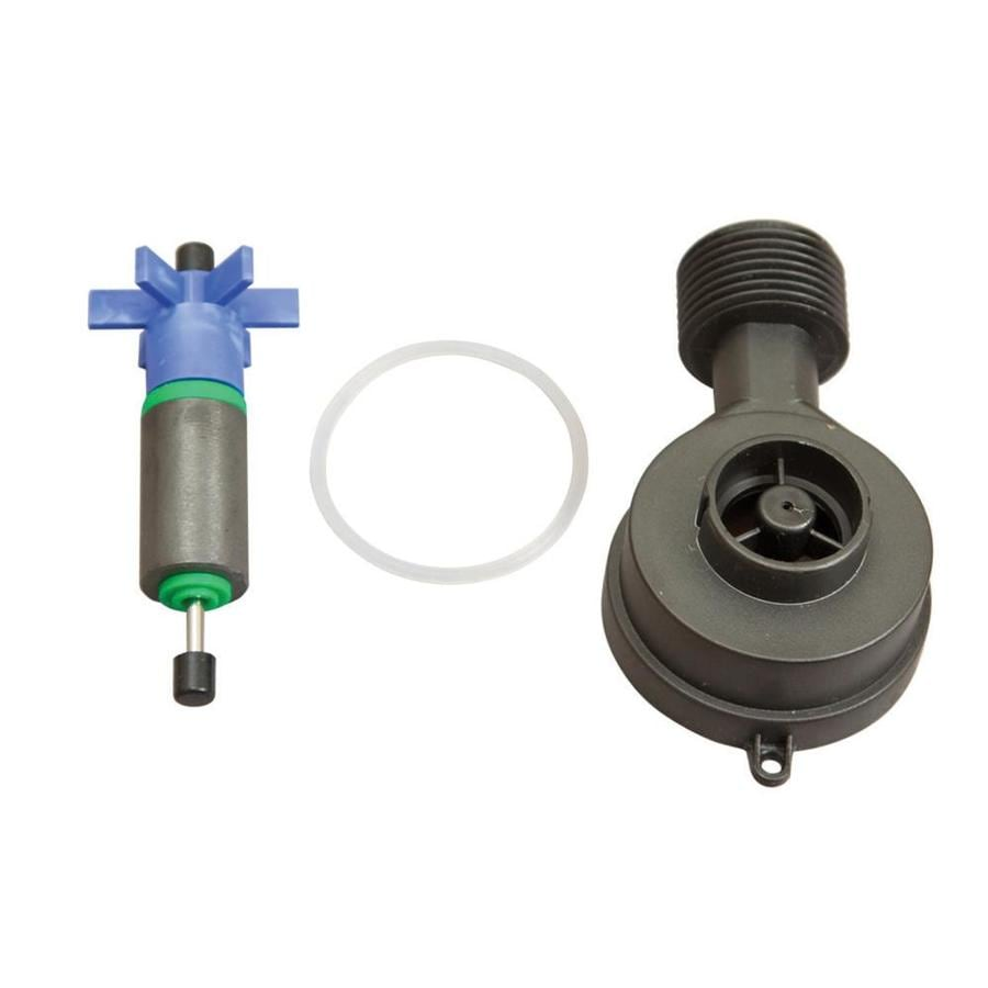 Blue Wave Pool Cover Pump Rebuilding Kit with Impeller, Pump Housing, and Gasket