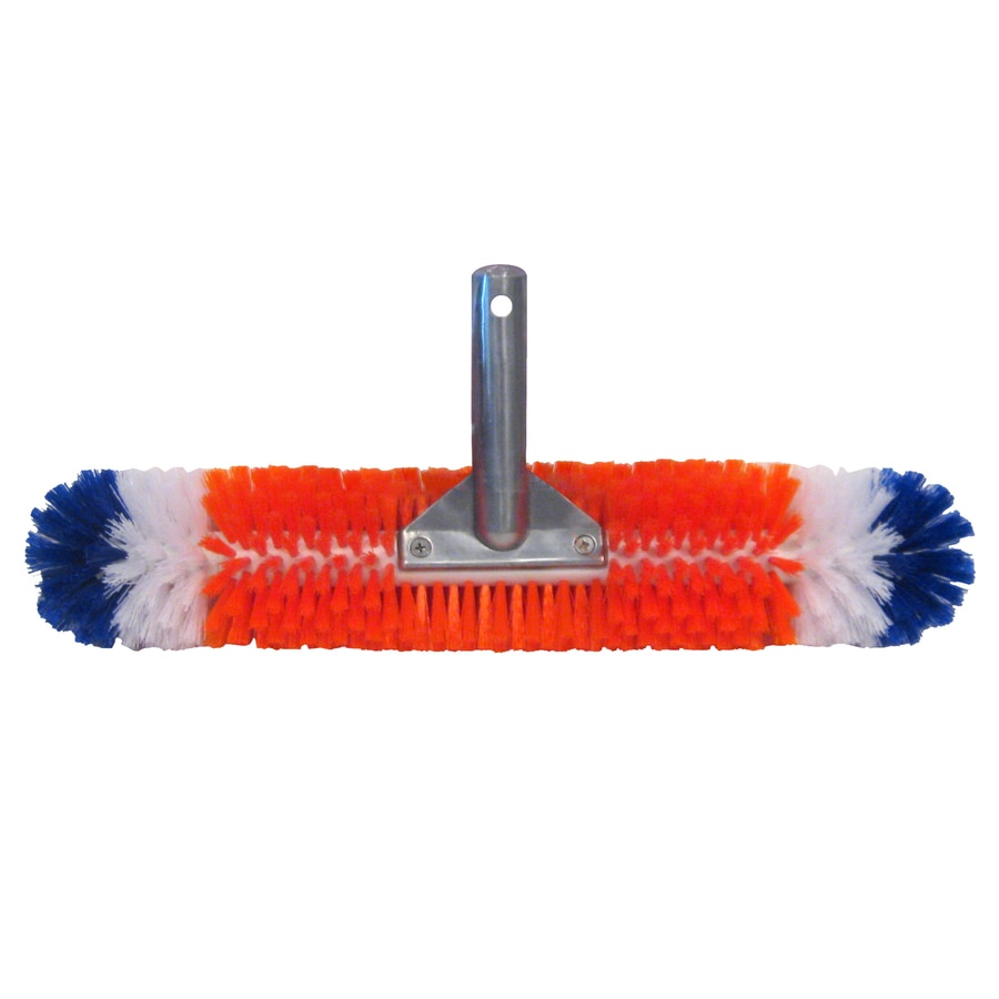 Shop Blue Wave Brush Around 360 Degree 19 In Nylon Wall