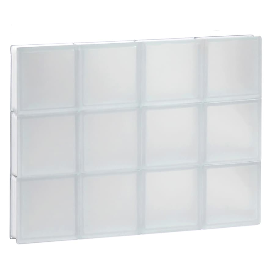 Shop Redi2set Frosted Glass Pattern Frameless Replacement