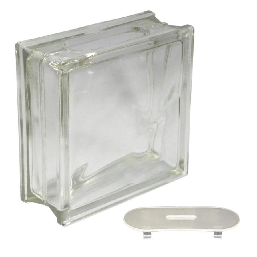 Shop Redi2craft Glass Block Common 8 In H X 8 In W X 3