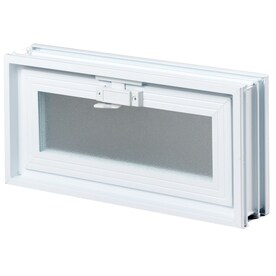 REDI2SET Glass Block Vent (Common: 18 In W X 8 In H
