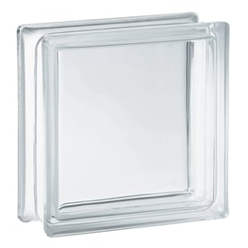 redi2set 10 pack clear glass block common 8 in h x 8 - Glass Blocks Lowes