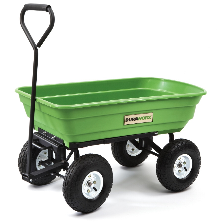 Shop Duraworx Plastic Yard Cart at Lowescom